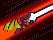 闇の覇者 竜王の闇の波動