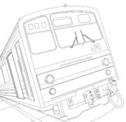 横浜線205系 線画