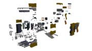 [OMF予定]電離気体射出式切断工具 分解図