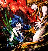 ブラキちゃん vs. アグナちゃん