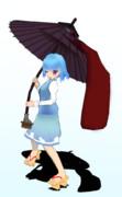 MMD多々良小傘完成しました