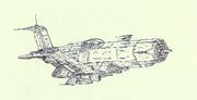 空間艦上戦闘機コルセア「自作機」