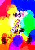 "richly-colored zombie ""YUKIKO"""