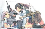 武装女子高生の日常