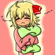 【東方】寝起き【ルーミア】