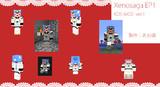 【マイクラ】ゼノサーガのKOS-MOS(ver1)作ってみた【あお嬢】