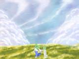 青空には霞たなびき