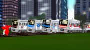 千葉の私鉄グループ車