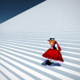 超でかい階段【MMD-OMF3】【配布】