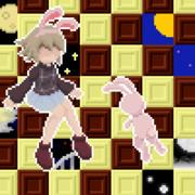 満月巡りの案内ウサギ