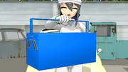 【MMD-OMF3】二段工具箱