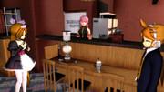 【MMD-OMF3】コーヒーセット