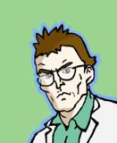 断定するウツギ博士