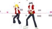 【MMD-OMF3】キングカズマ