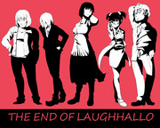 THE END OF LAUGHHALLO