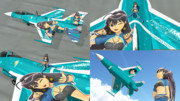 F-16C -THE IDOLMASTER HIBIKI- Ver GLT 【テクスチャ配布】