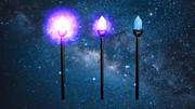 【MMD-OMF3】 魔法の松明(Torch)モデル