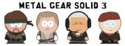 MGS3のキャラクターをサウスパーク風に描いてみた