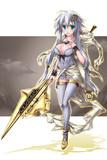 斧の女神様。