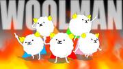 【MMD】羊毛戦士ウールマン