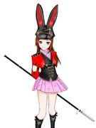 黒ウサギ武将
