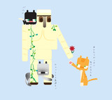 【マイクラ】オハナアゲル【にゃんこ】