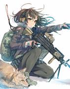 コタロウと武装少女