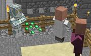 【Minecraft】村人をスタンドにしてみた。