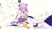 【MMD】膝枕っぽい【ポーズ配布】