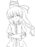 【方舟企画Ⅲ】 《キャラ》布都 《服装》朱鷺子