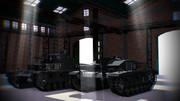 戦車ハンガー