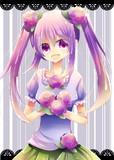 紫陽花女の子