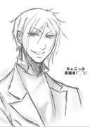 某キャラクターを、ちょこっと落描き~(^_^)/