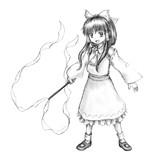 輝針城霊夢(下絵)
