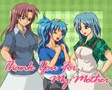 【杏さや+娘】いつもありがとう、お母さん2013【母の日】