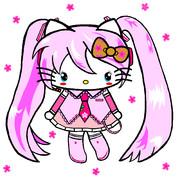 桜ミク×ハローキティ