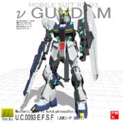 【MMDガンダム】 RX-93 Ver.Ka (2014/02/27)