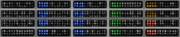 京王8000系LED表示まとめ(FC旧表示)