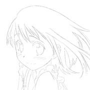 小野寺小咲を模写しました。