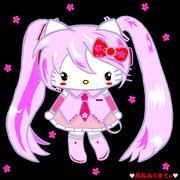 桜ミク×ハローキティ ~♥夜桜みくきてぃ♥ ver.03~