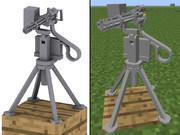【Minecraft】自動機銃
