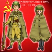 ソ連軍の雨衣 (ポンチョ)
