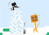 【マイクラ】つくってあそぼう(雪)【にゃんこ】