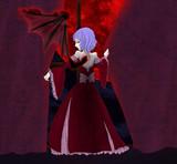 赤い月夜のお嬢様