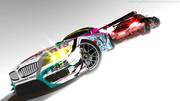【MMD】BMW Z4 痛車 【2013GSRミク号にリペイント修正】 と 【GT15周年仕様】