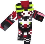 【Minecraft】ヴァルヴレイヴ一号機「火人」全体図【革命機ヴァルヴレイヴ】