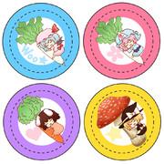 【例大祭10】缶バッジサンプル