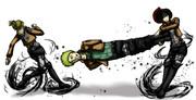特にネタがない場合、暴力がライナーを襲う――!!