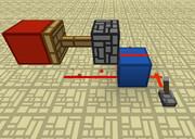 レッドストーンブロック式クロック