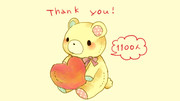 Thank you  for  1100